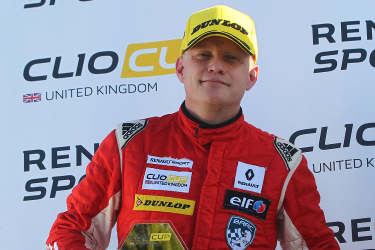 Lee Pattison – 2016 Renault UK Clio Cup 'Masters Cup' Champion