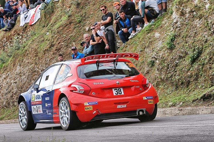 Jose Antonio Suarez - Peugeot Rally Academy - Credit: Peugeot