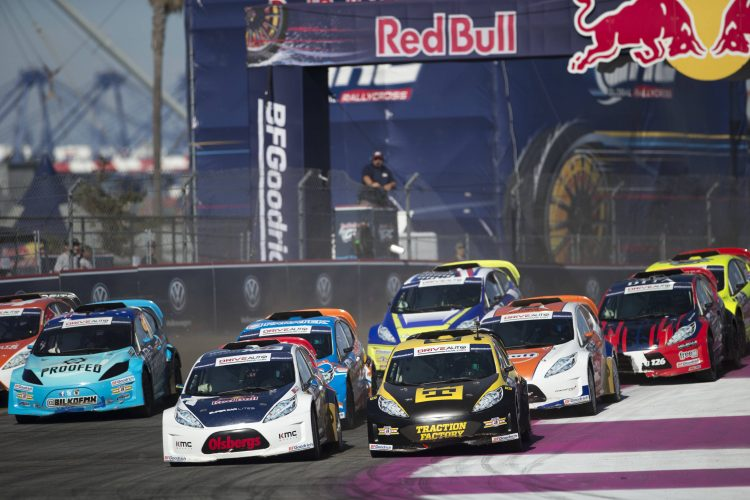 Just seven pints vover the top three Lites drivers int he points - Credit: Louis Yio/Red Bull GRC