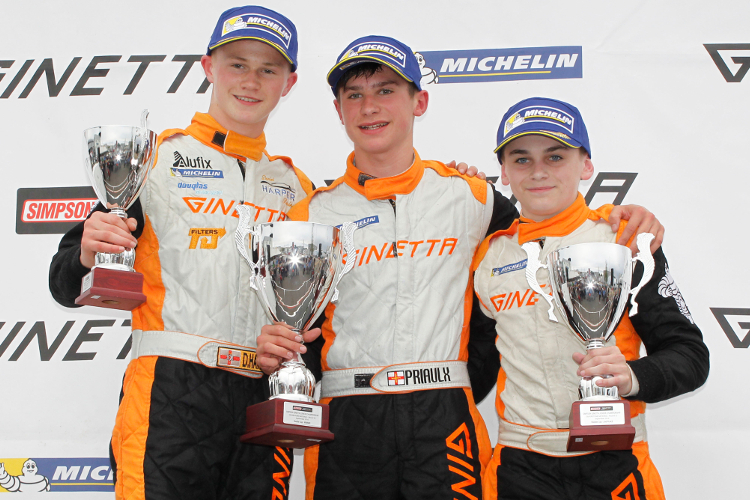 From L to R: Harper, Priaulx And King Were The Class Of The Rookie Field - Credit: Jakob Ebrey Photography
