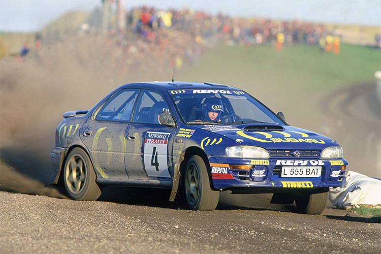 Colin McRae - Credit: Wales Rally GB