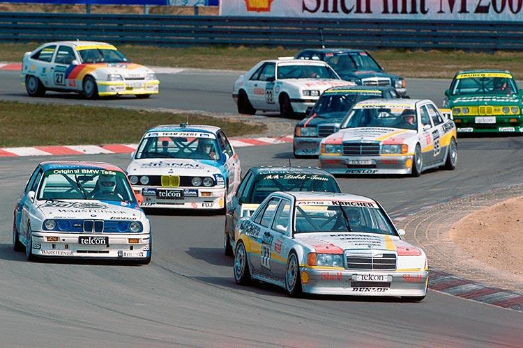 DTM-Start 1990 Nürburgring - Credit: DTM