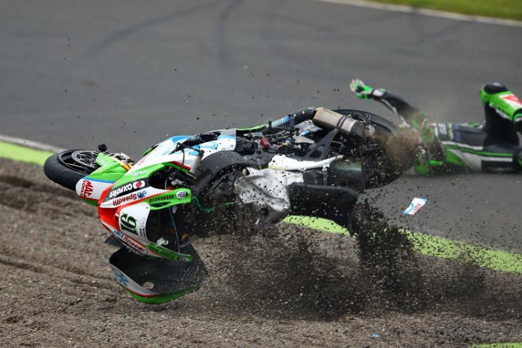 Haslam Crash at Knockhill