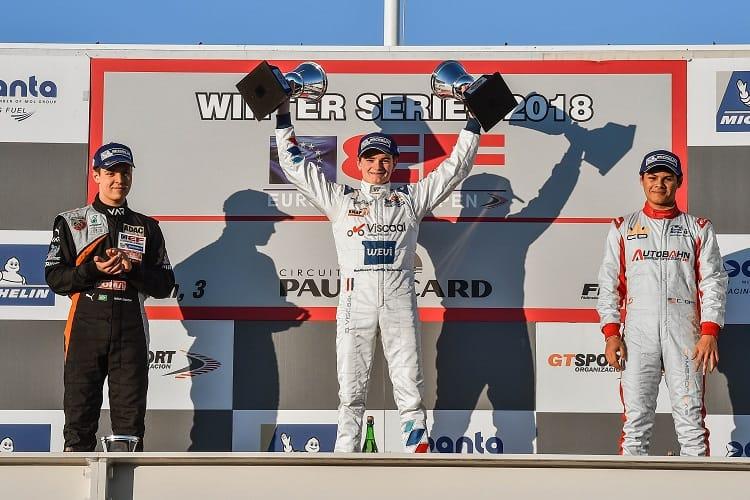 Bent Viscaal won race two at Paul Ricard
