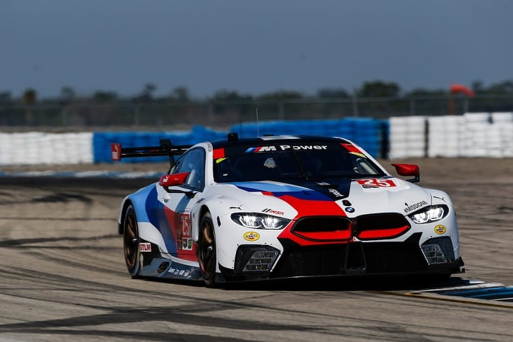 BMW were fastest in the GT Le Mans class