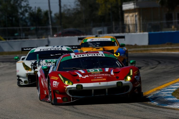 Daniel Serra took the #51 to pole position in GTD