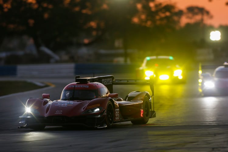 The Mazda RT24-P had its strongest outing yet