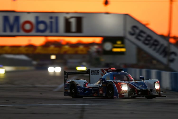 United Autosports finished fifth at Sebring