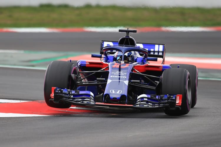 Red Bull Toro Rosso Honda had a positive pre-season in Spain
