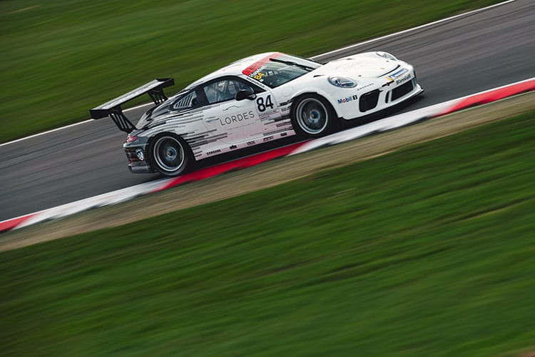 Richard Hawken - DVF Racing with Slidesports - Brands Hatch Indy - 2018 Porsche Carrera Cup GB