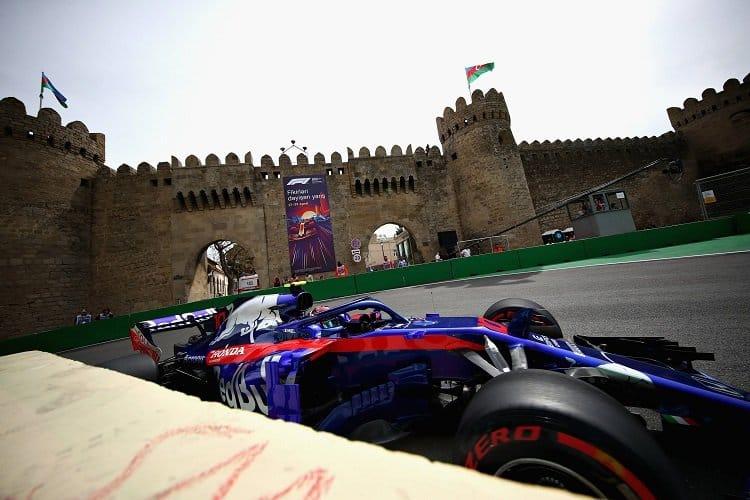 Pierre Gasly - Red Bull Toro Rosso Honda