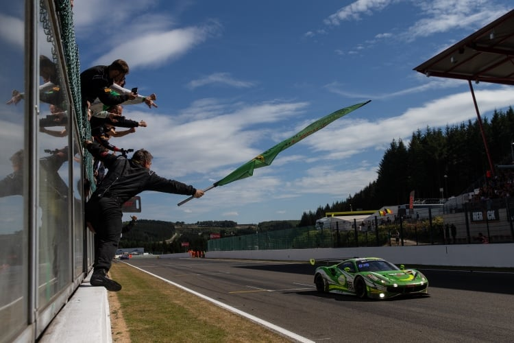 Spa 24 Hours - The Ferrari of Rinaldi Racing wins Pro-Am Cup