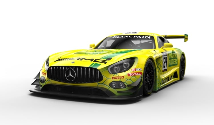 Lackierung Mercedes-AMG Team MANN-FILTER #84 Livery #84 Mercedes-AMG Team MANN-FILTER