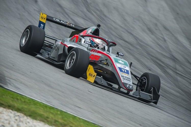 Charles Leong - Hitech Bullfrog GP - Sepang International Circuit
