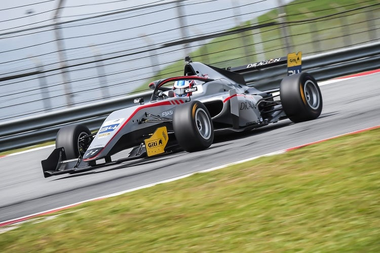 Jake Hughes - Hitech Bullfrog GP - Sepang International Circuit