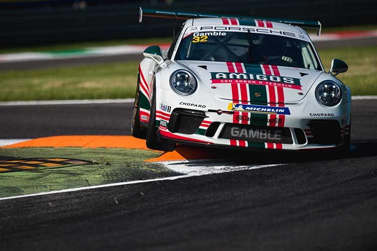 George Gamble - 2018 Porsche Carrera Cup GB - Monza