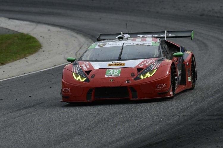 #48 Lamborghini Huracan GT3- Bryan Sellers- Lime Rock Park