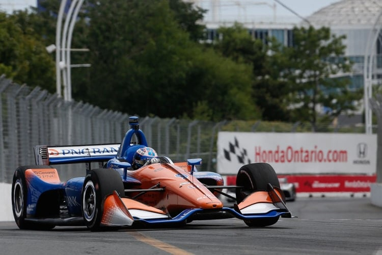 Scott Dixon: Verizon IndyCar Series, Chip Ganassi Racing, Toronto 2018
