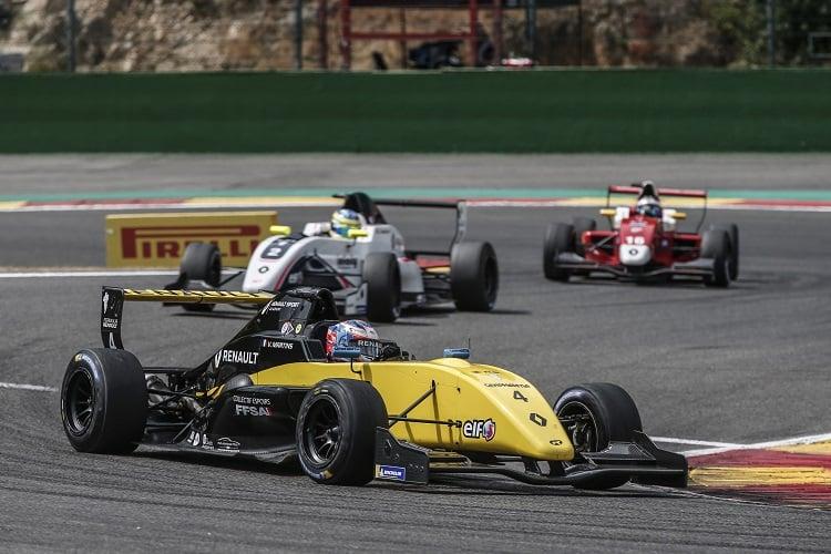 Victor Martins - R-ace GP - Spa-Francorchamps