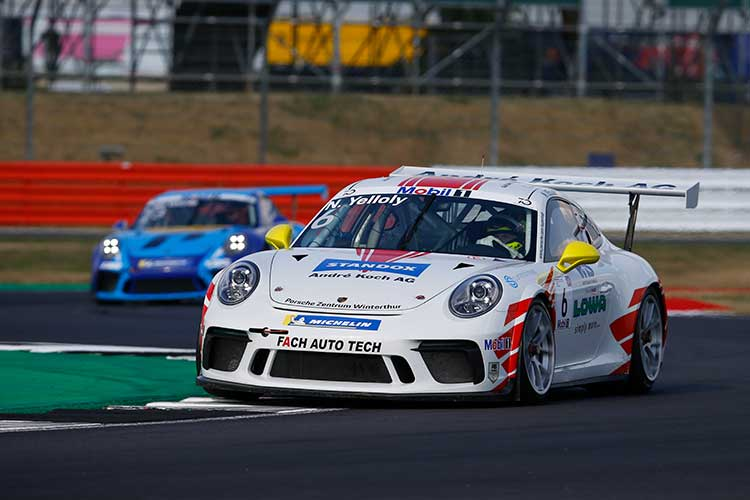 Nick Yelloly - Fach Auto Tech - Porsche Mobil 1 Supercup