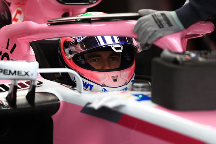 Sergio Perez - Racing Point Force India F1 Team