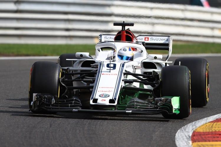 Marcus Ericsson - Alfa Romeo Sauber F1 Team - Spa-Francorchamps