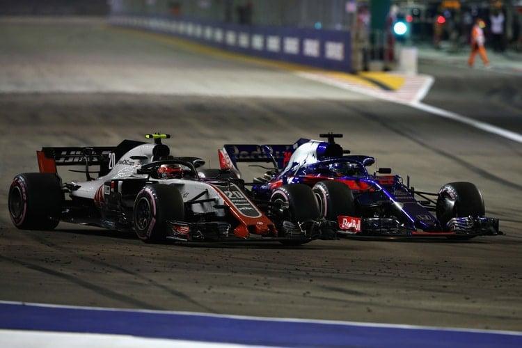 Brendon Hartley - Singapore Grand Prix - F1