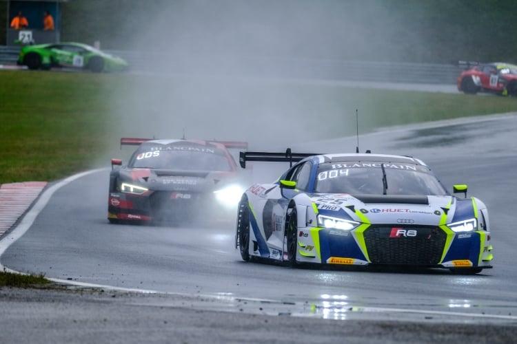 #25 Sainteloc Racing FRA Audi R8 LMS - Simon Gachet FRA Christopher Haase DEU, Race 2 | SRO / Dirk Bogaerts Photography