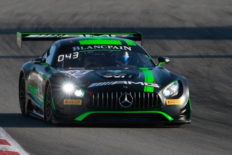 #43 Mercedes-AMG Team Strakka Racing GBR Mercedes-AMG GT3 - Maxi Buhk DEU Alvaro Parente PRT Maxi Goetz DEU, Free Practice   SRO / Patrick Hecq Photography