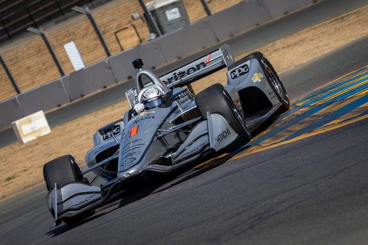 Josef Newgarden (USA), Team Penske, 2018 Verizon IndyCar Series, Sonoma Raceway