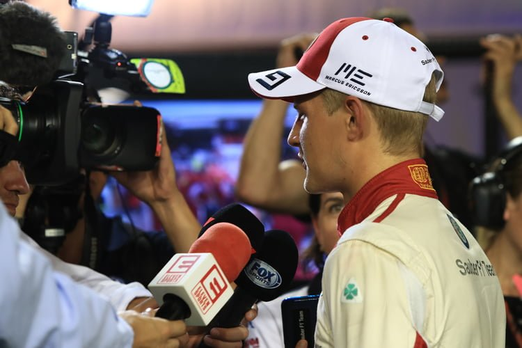 Marcus Ericsson - Formula 1 - 2018 Singapore GP