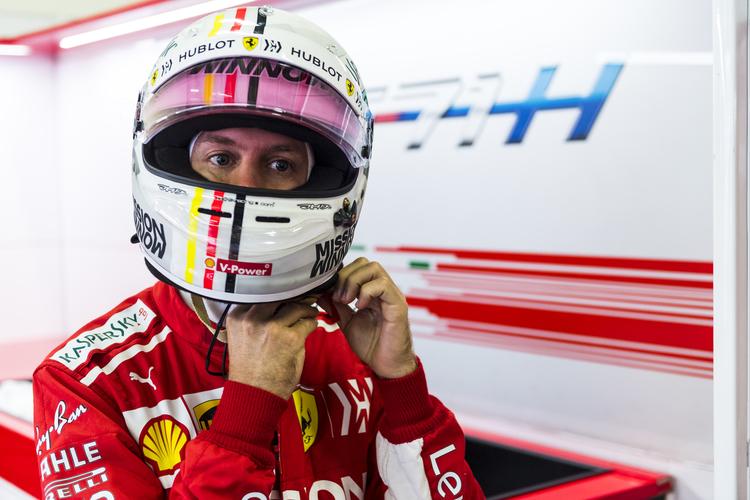 Sebastian Vettel - 2018 Mexican Grand Prix