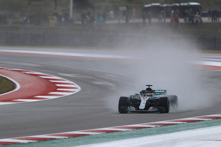 Lewis Hamilton - Mercedes AMG Petronas Motorsport - Circuit of the Americas