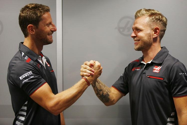 Romain Grosjean & Kevin Magnussen - Haas F1 Team - Sochi Autodrom