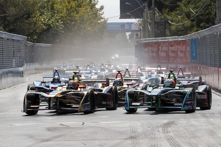 2018 Santiago E-Prix Race Start