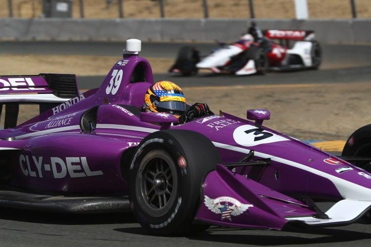 Santino Ferrucci (USA), Dale Coyne Racing, 2018 Verizon IndyCar Series, Sonoma