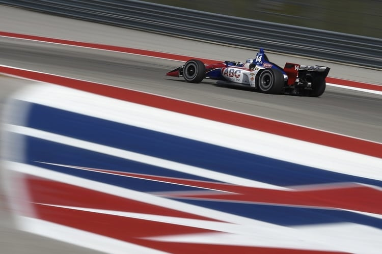 Tony Kanaan (BRA), A.J. Foyt Enterprises, IndyCar Series, Circuit of the Americas 2018 Test