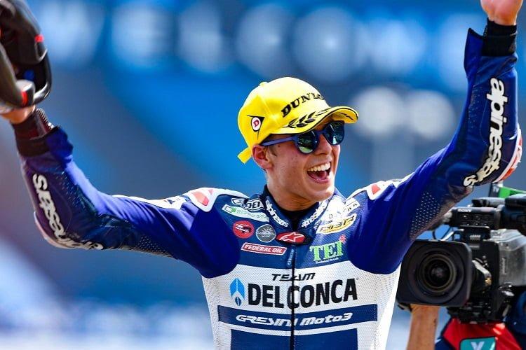 Fabio Di Giannantonio - Photo Credit: MotoGP.com