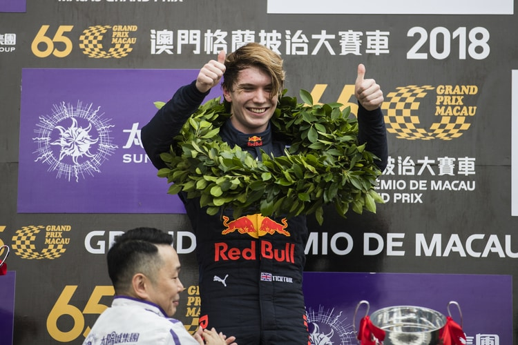 Dan Ticktum - Macau Qualifying Race