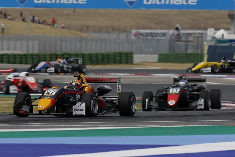 Dan Ticktum and Jüri Vips: 2018 FIA European Formula 3 Championship - Misano