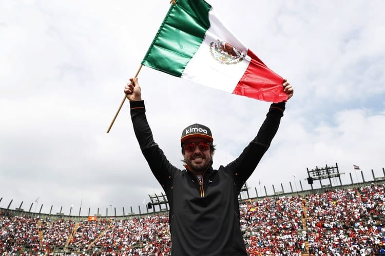 Fernando Alonso- 2018 Mexican GP