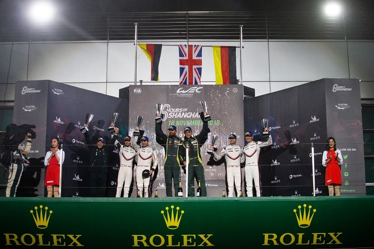 Marco Sorensen and Nicki Thiim claimed the first WEC class victory for the new Astn Martin Vantage.