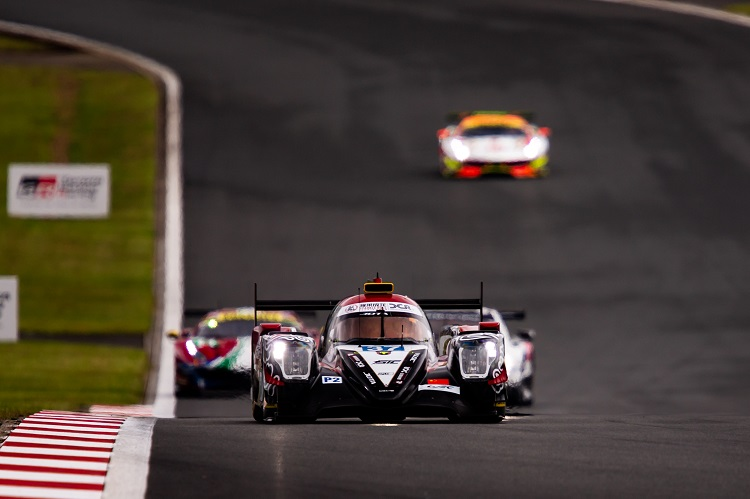 Jackie Chan DC Racing have both cars just one point off leading the LMP2 Championship