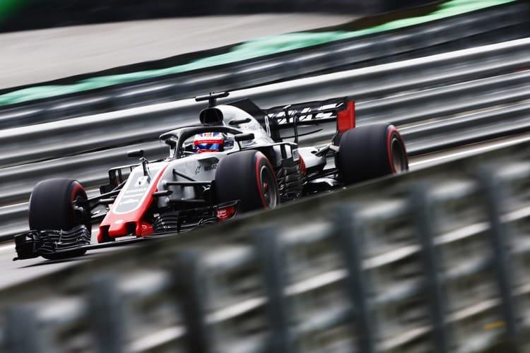 Romain Grosjean - Haas F1 Team - Brazilian GP