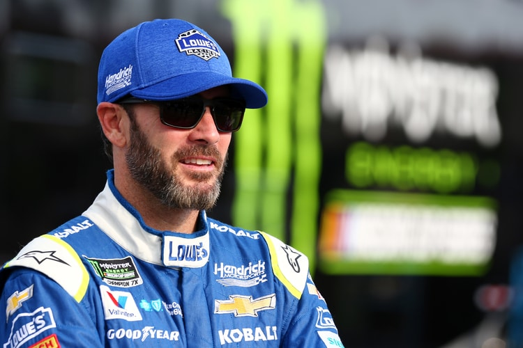 Jimmie Johnson (USA), Hendrick Motorsports, 2017 Monster Energy NASCAR Cup Series