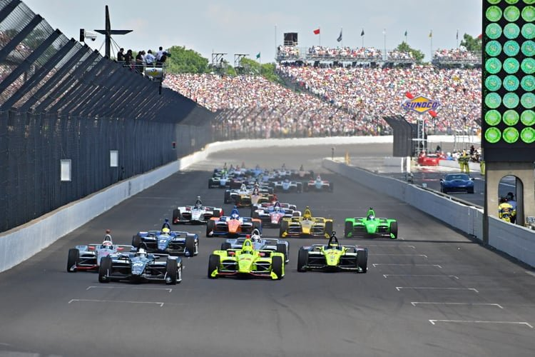 2018 Verizon IndyCar Series, 2018 Indianapolis 500, Race Start