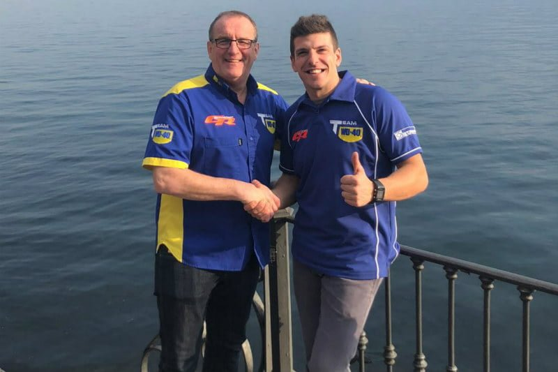 Corti joins Team WD40
