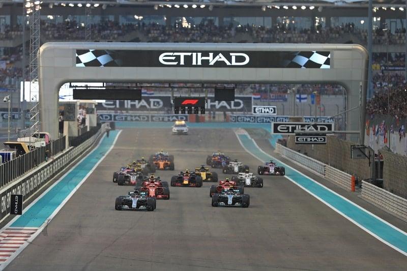 Lewis Hamilton - Mercedes AMG Petronas Motorsport - Abu Dhabi GP