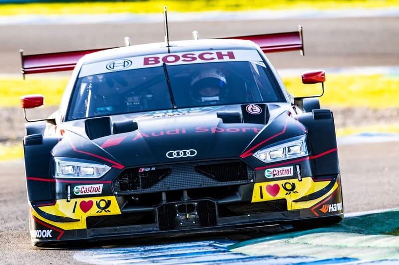 Mike Rockenfeller - Audi Test