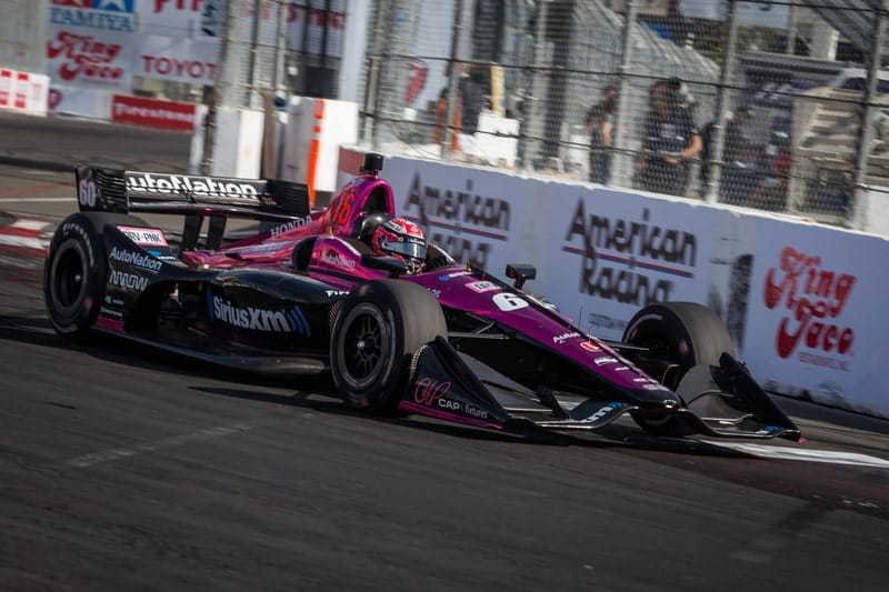 Jack Harvey (GBR), Meyer Shank Racing, 2018 Verizon IndyCar Series, Long Beach